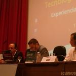 Resumen en Twitter de la ponencia de Domótica en la UPM